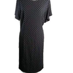 Old Navt Plus Size XL Dress Black and Tan